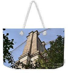 Brooklyn Bridge Weekender Tote Bag