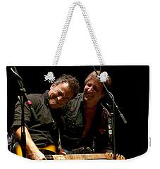 Bruce Springsteen And Danny Gochnour Weekender Tote Bag