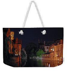 Weekender Tote Bag featuring the photograph Bruges by David Gleeson