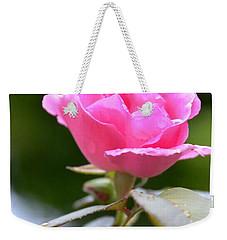 Bubblegum Rose Weekender Tote Bag