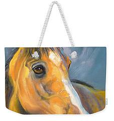 Buckskin Sport Horse Weekender Tote Bag