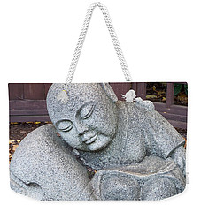 Buddha Weekender Tote Bag by Chalet Roome-Rigdon