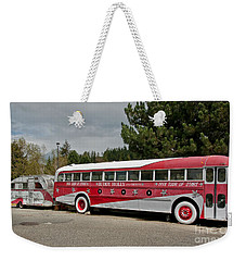 Buddy Holly 1958 Tour Of Stars Bus Art Prints Weekender Tote Bag