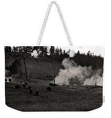 Buffalo Apocalypse  Weekender Tote Bag