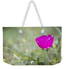 Buffalo Rose Weekender Tote Bag by Lana Trussell