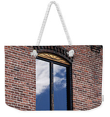 Weekender Tote Bag featuring the photograph Building Series - Sky Views by Kathleen Grace