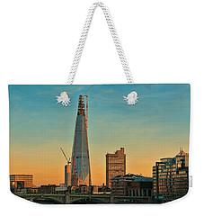 Building Shard Weekender Tote Bag
