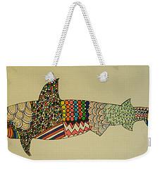 Bull Shark Weekender Tote Bag
