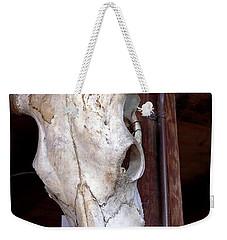 Bull Skull Weekender Tote Bag