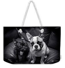 Bulldog Buddies Weekender Tote Bag