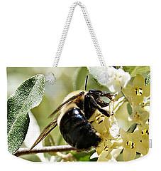 Busy As A Bee Weekender Tote Bag by Joe Faherty