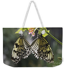 Butterfly Duo Weekender Tote Bag