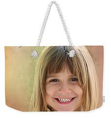 Butterfly Smile Weekender Tote Bag