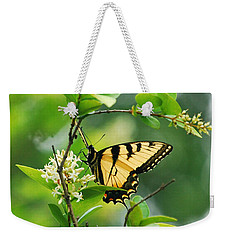 Weekender Tote Bag featuring the photograph Butterfly Tiger Swallow by Peggy Franz