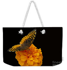 Butterfly Visitor Weekender Tote Bag by Cindy Manero