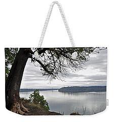 By The Still Waters Weekender Tote Bag by Tikvah's Hope
