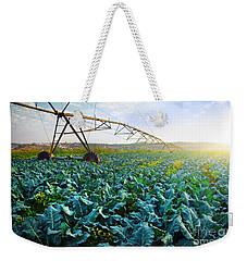 Cabbage Growth Weekender Tote Bag by Carlos Caetano