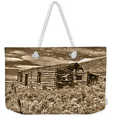 Cabin Fever Weekender Tote Bag