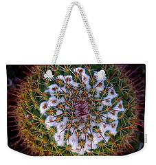 Cactus Radiance Weekender Tote Bag by Vicki Pelham