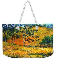 California  Fields Weekender Tote Bag