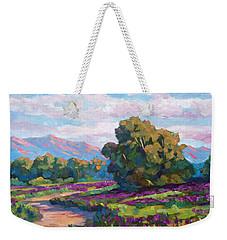 California Hills - Plein Air Weekender Tote Bag