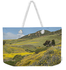 California Hillside View I Weekender Tote Bag