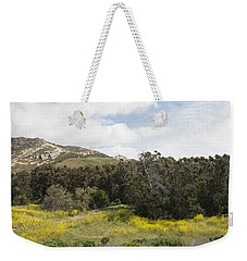 California Hillside View IIi Weekender Tote Bag