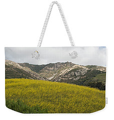 California Hillside View V Weekender Tote Bag