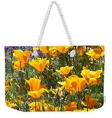 California Poppies Weekender Tote Bag by Carla Parris