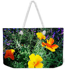 Weekender Tote Bag featuring the photograph California Poppy by Nina Prommer
