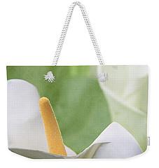 Calla Lilies Weekender Tote Bag by Alyce Taylor