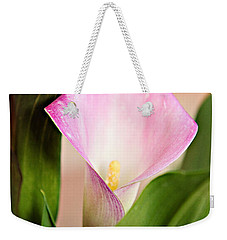 Calla Lily Weekender Tote Bag by Lana Trussell