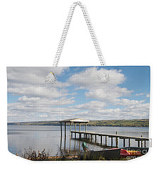 Weekender Tote Bag featuring the photograph Calm Waters by William Norton