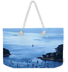 Camden Harbor Weekender Tote Bag by Joe Faherty