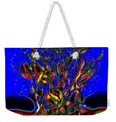 Camp Fire Delight Weekender Tote Bag by Alec Drake