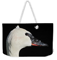Trumpeter Swan Weekender Tote Bag by Maciek Froncisz