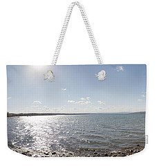 Weekender Tote Bag featuring the photograph Canandaigua Lake Panorama by William Norton