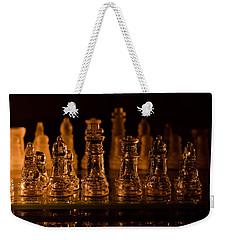 Candle Lit Chess Men Weekender Tote Bag