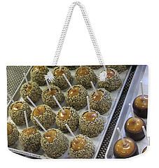 Candy Apples Weekender Tote Bag by Bill Owen