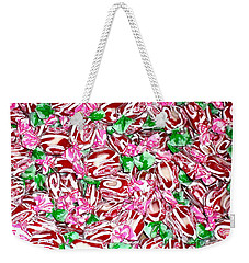 Candy Is Dandy Weekender Tote Bag by Beth Saffer