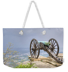 Cannon 2 Weekender Tote Bag by David Troxel