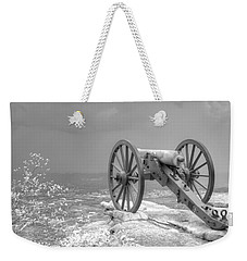 Cannon Weekender Tote Bag by David Troxel