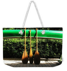 Canoe To Nowhere Weekender Tote Bag by Alec Drake