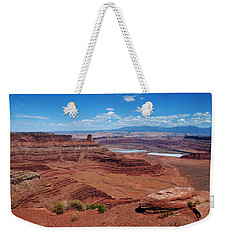 Weekender Tote Bag featuring the photograph Canyonlands by Dany Lison