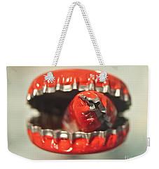 Cap Cannibal Weekender Tote Bag by Bruce Stanfield