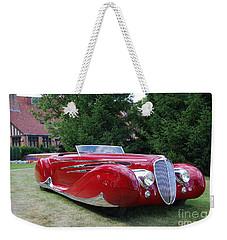 Car At Meadowbrook Weekender Tote Bag