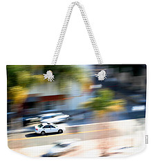 Car In Motion Weekender Tote Bag