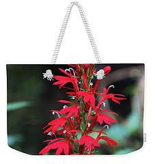 Cardinal Flower Weekender Tote Bag
