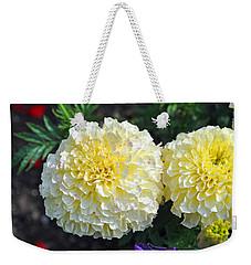 Carnations Weekender Tote Bag by Tikvah's Hope