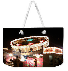 Weekender Tote Bag featuring the photograph Carnival by Clara Sue Beym